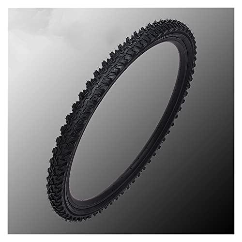LWCYBH Neumático De Bicicleta K849 / MTB 24 / 26X1.95/2.1 Piezas De Bicicleta De Bicicleta De Bicicleta De Montaña (Color : Black)