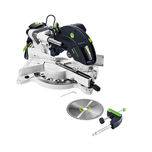 Festool KS 88 RE KAPEX-Sierra tronzadora 575317, Negro y verde, Size