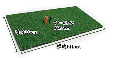 『Discover winds ゴルフ練習用マット スイング軌道矯正ガイド 練習用ボール2種類 ゴム製ティー セット』の1枚目の画像