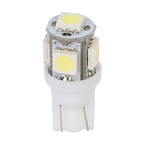 Osan 2 x T10 W5 W LED SMD 5050 blanc super Feu de position 4 + 1 Xenon intérieur rueck lumière plaque d'immatriculation voiture lampe lumière Ampoule ultra clair