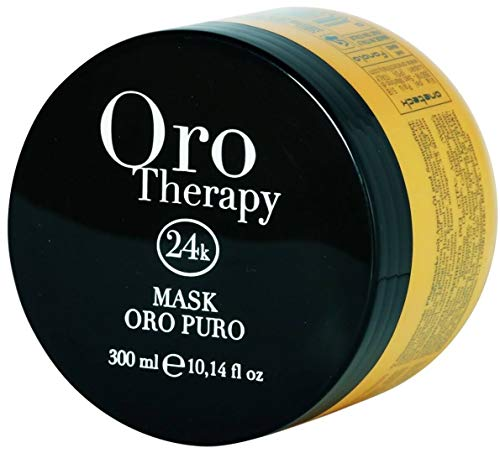 Illuminating Mask with Keratin and Argan 300ml Oro Puro Therapy 24k  Maschera Illuminante con Cheratina e Argan