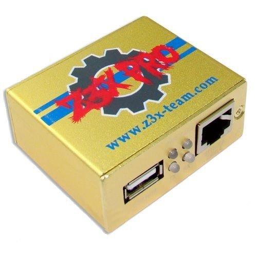 Z3X Box Pro Herramienta para Samsung, Golden Edition, con juego de cables (30Piezas).