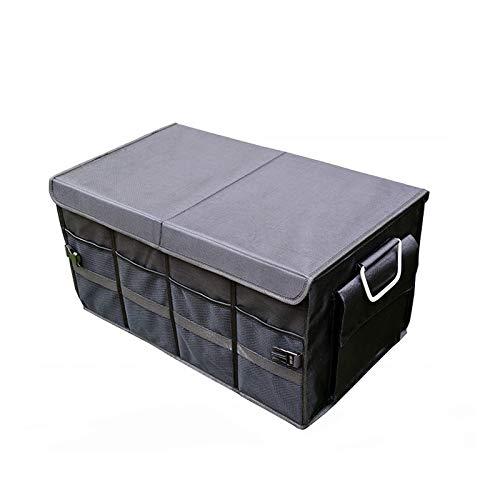 Caja de almacenamiento de automóviles Caja de almacenamiento de automóviles, caja de almacenamiento de tronco plegable, caja de engrase de hebilla de coche, la apariencia de la atmósfera hace que su t