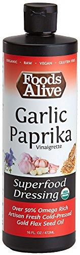 Superfood Dressing Garlic Paprika, Organic, 16oz