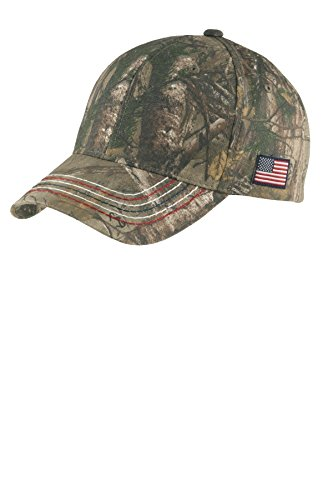 Joe's USA(tm - Realtree Xtra Camouflage Caps with Embroidered American Flag Cap 1 Graphic T-shirt