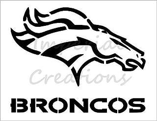 Best broncos logo stencil Reviews