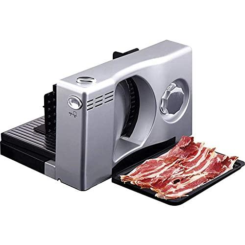 DGHJK Rebanadora de Carne congelada, Rebanadora eléctrica de Alimentos Rebanadora de Pan...