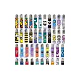 48 mecheros Clipper mixtos de colección, 48 gráficos diferentes (24 grandes y 24 micro).