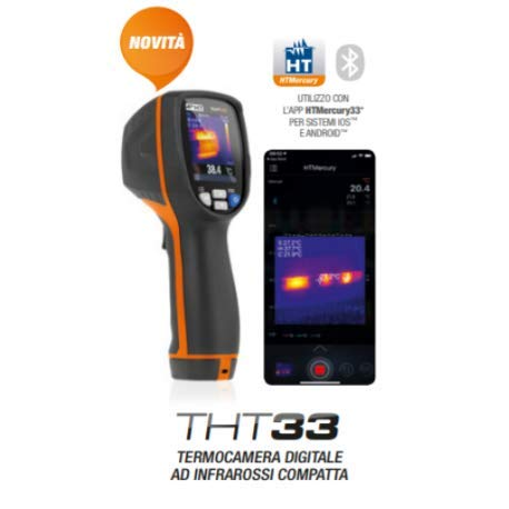 HT THT33 Digitale compacte infrarood-camera 80X80PXL Bluetooth HN000033