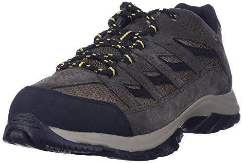 Columbia Men's Crestwood Hiking Shoe, Dark Brown, Baker, 10 Regular US