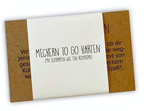 Karten zum Meckern, Meckern to go Karten, Denkzettel, Meckernkarten, Geschenk Kollege, Geschenk Kollegin, Geschenk Freunde, Wichtelgeschenk