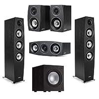 Deals on Jamo C 95 II Black Ash, Pair C 9 CEN II 4-in J 10 Speakers