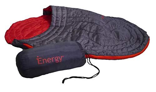 iEnergy JUL - Hundedecke Schlafsack Hundebett für Hunde, ideal für Camping, Urlaub, Wandern, Rucksackreisen und Ausflüge, Einheitsgröße für alle Rassen, 105x75x2,5 cm