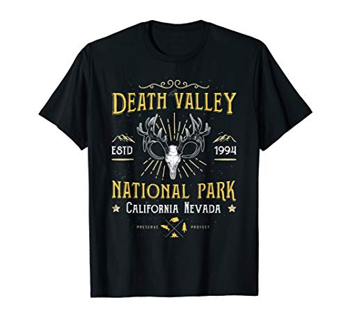 Death Valley National Park Vintage Kalifornien Nevada T Shirt