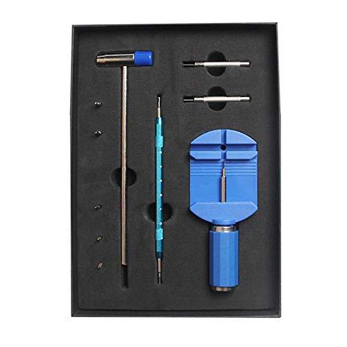 Colcolo Pulsera de muñeca Reloj Banda de Enlace Pin removedor Banda de Reloj Linke Bar eliminación para Ajuste de la Correa del Reloj - Azul
