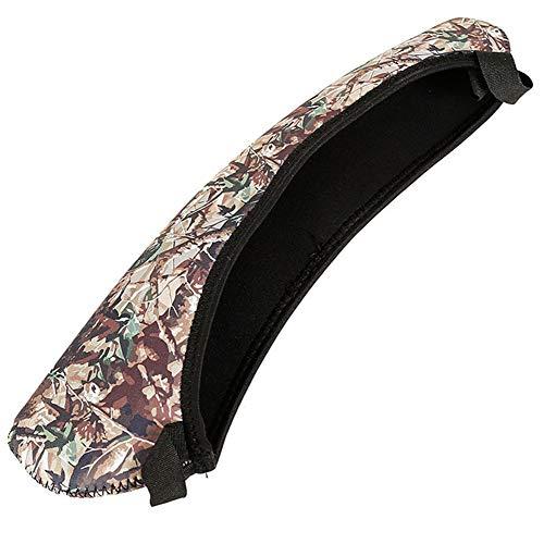 Deportes neopreno impermeable bolsa protectora riflescope alcance cubierta anti arañazos (camuflaje)