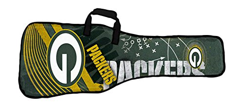 Woodrow Guitar by The Sports Vault NFL Green Bay Packers Gig Bag