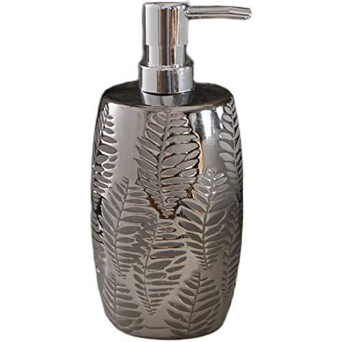 Dispensadores de jabón Botella de jabón gel de ducha botella de reemplazo de botella de botella botella de jabón cerámico dispensador de jabón decoración de baño Bomba de líquido Botella