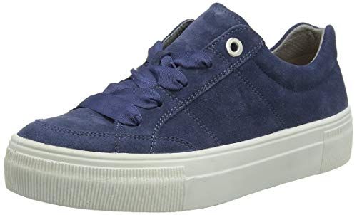 Legero Damen Lima Sneaker, Blau (Indaco (Blue) 86), 39 EU