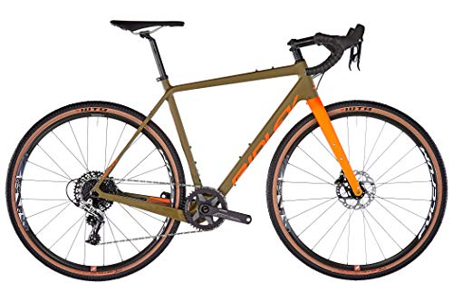 Ridley Bikes Kanzo C ADV Rival1 HD camo Green/orange Rahmenhöhe S | 54cm 2020 Cyclocrosser