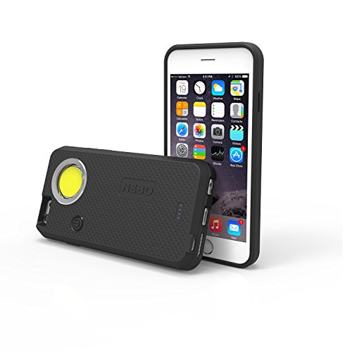 Nebo CaseBrite Cell Phone Case for iPhone 6 and 6s - Black