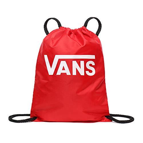 Vans League - Borsa da panchina per bagagli, unisex, ROSSO RACING (Rosso) - VA2W6