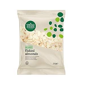 Whole Foods Market - Almendras laminadas ecológicas, 200 g