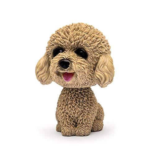 Muñecos creativos, adornos interiores, perros con cabeza, juguetes de auto, dibujos animados, muñecos favoritos, Teddy Wong