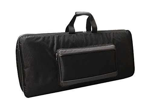 Baritone Case For Yamaha DGX-660 88-Keys Keyboard Heavy Padded Black Bag (58X20X07)