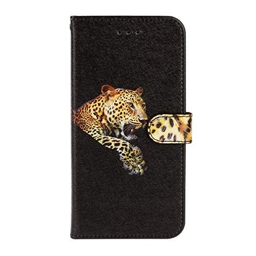 Hoesje voor iPhone 7 Plus, iPhone 8 Plus Wallet Book Case, Magneet Flip Wallet Slim Beschermende Telefoonhoes met Kaarthouders slots Robuuste schokbestendige Bookcase voor iPhone 7 Plus, iPhone 8 Plus