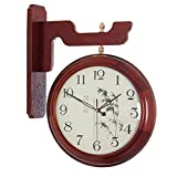 Reloj De Pared De Doble Cara Vintage, Reloj De Pared De Estilo Antiguo Europeo, Reloj De Pared Decorativo, Reloj De Pared Antiguo con Rotación De 360 Grados
