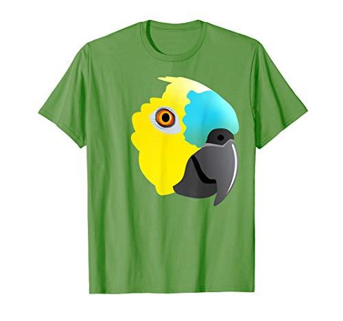 Amazonas-Papagei mit blauer Front T-Shirt