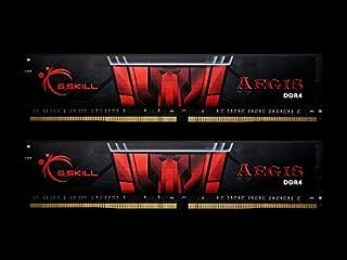 G.Skill DDR4メモリ DDR4-3000 32GBKit(16GB×2枚組)国内正規品 OVERCLOCK WORKS購入限定特典ステッカー付き F4-3000C16D-32GISB