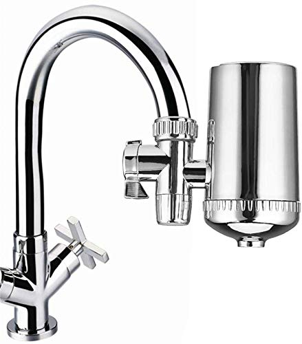 Moet Tap Water Filter keukenkraan waterzuiveraar RVS Ceramic Water Purifier for lagere Chloor verontreinigende stoffen dljyy