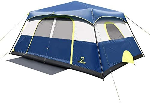 OT QOMOTOP Tents 6 Person 60 Seconds Set Up Camping Tent Waterproof Pop Up Tent with Top Rainfly product image