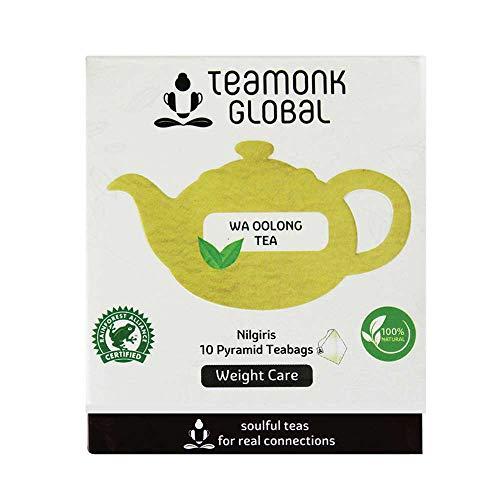 Teamonk Oolong Tea, Long Leaf 10 Tea Bags
