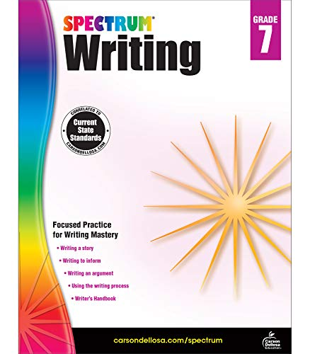 Spectrum | Writing Workbook | 7th Grade, 136pgs