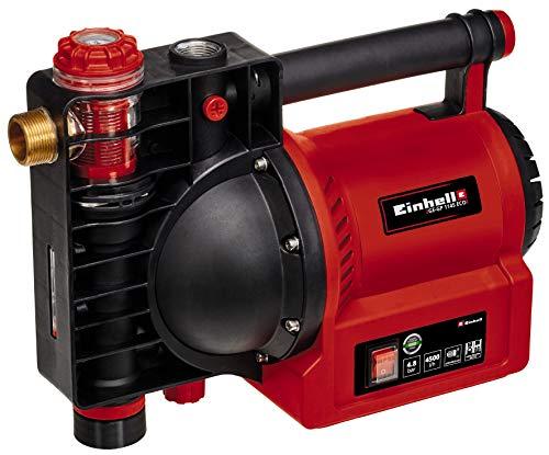 Einhell Gartenpumpe GE-GP 1145 ECO (1.100 W, 4500 L/h max. Förrdermenge, Wasserfüll-/Schmutz-/Sauganzeige, Thermo-/Frostschutz, Wassereinfüllschraube, Vorfilter m. Rückschlagventil, inkl. Adapter)