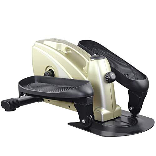 Qianduoduo888 Mini Fitness Hydraulic Stepper Haushalt Stepper Mit Griff Dünner Beintrainer for Anfänger Und Fortgeschrittene (Color : Black)