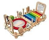 Bartl I'm Toy 111870 Wandspiel Musikstation Motorikspiel für Kinderzimmer, Wartezimmer, Kinderkrippe