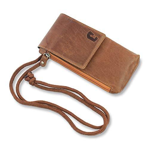 Safekeepers Brustbeutel - Brusttasche - Umhängetasche Leder