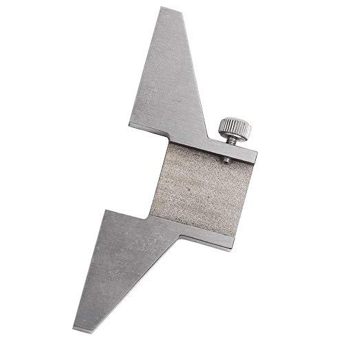 Oumefar Praktische Stahl-Bremssattel-Tiefenbasis Tiefenmesser-Basis 100% Neu für Bremssattel