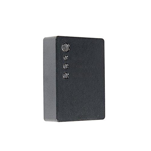 QAZQA Modern Schemerschakelaar opbouw zwart Kunststof Rechthoekig Geschikt voor LED Max. x Watt
