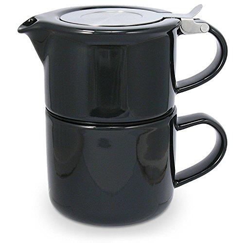 Théière égoïste Tea for One, 0.4 l, Noir