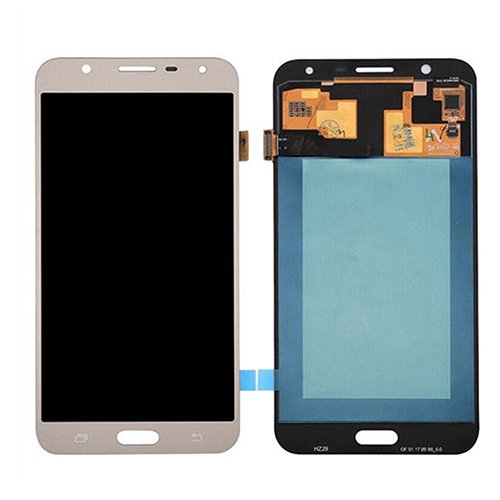 TFT Material LCD Screen and Digitizer Full Assembly for Galaxy J7 Neo // J701 J7 Nxt J701F//DS J7 Core J701M Color : Gold Gold