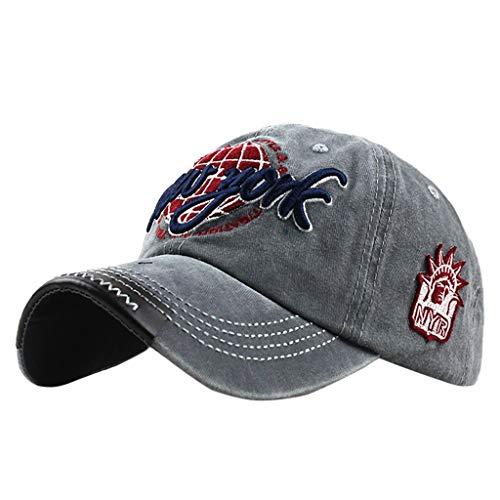 Gorra de Béisbol con Algodón - Uribaky Unisex Sombrero para Hombre y Mujere - al Aire Libre Sombrero de Gorros de Sol para Primavera, Otoño, Invierno, Verano …