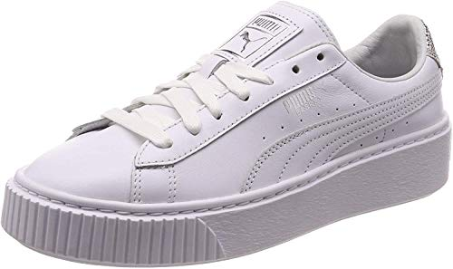 Puma Basket Platform Opulent White 369840 02