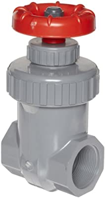 """Spears CPVC Gate Valve, Non-Rising Stem, Viton O-Ring, 3/4"""" Socket by Spears Manufacturing"""