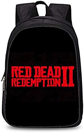 6fa47a897b1 America games Red Dead Redemption 2 backpack kindergarten primary zipper  school double-layer bag cool