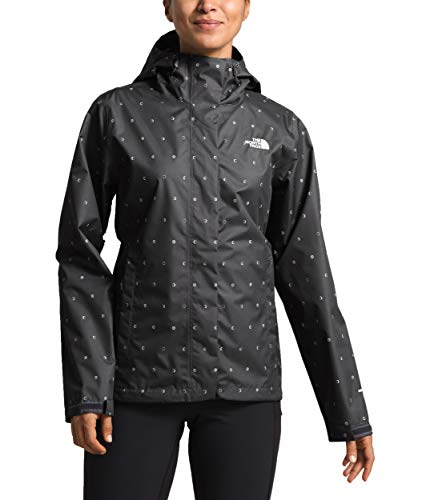 The North Face Women's Print Venture Jacket, Asphalt Grey Moon Phases Print, Size S